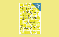Mr. Penumbra's 24 Hour Bookstore:  Robin Sloan