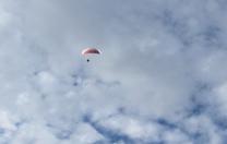 Hang Gliding…